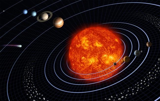 """Артефакт по имени \""""Солнечная система\"""""""
