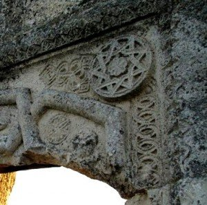 Звезда Инглии на Древней крепости Мангуп в Крыму