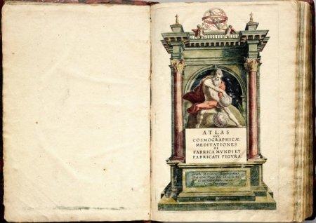 Атлас Меркатора 1595 года