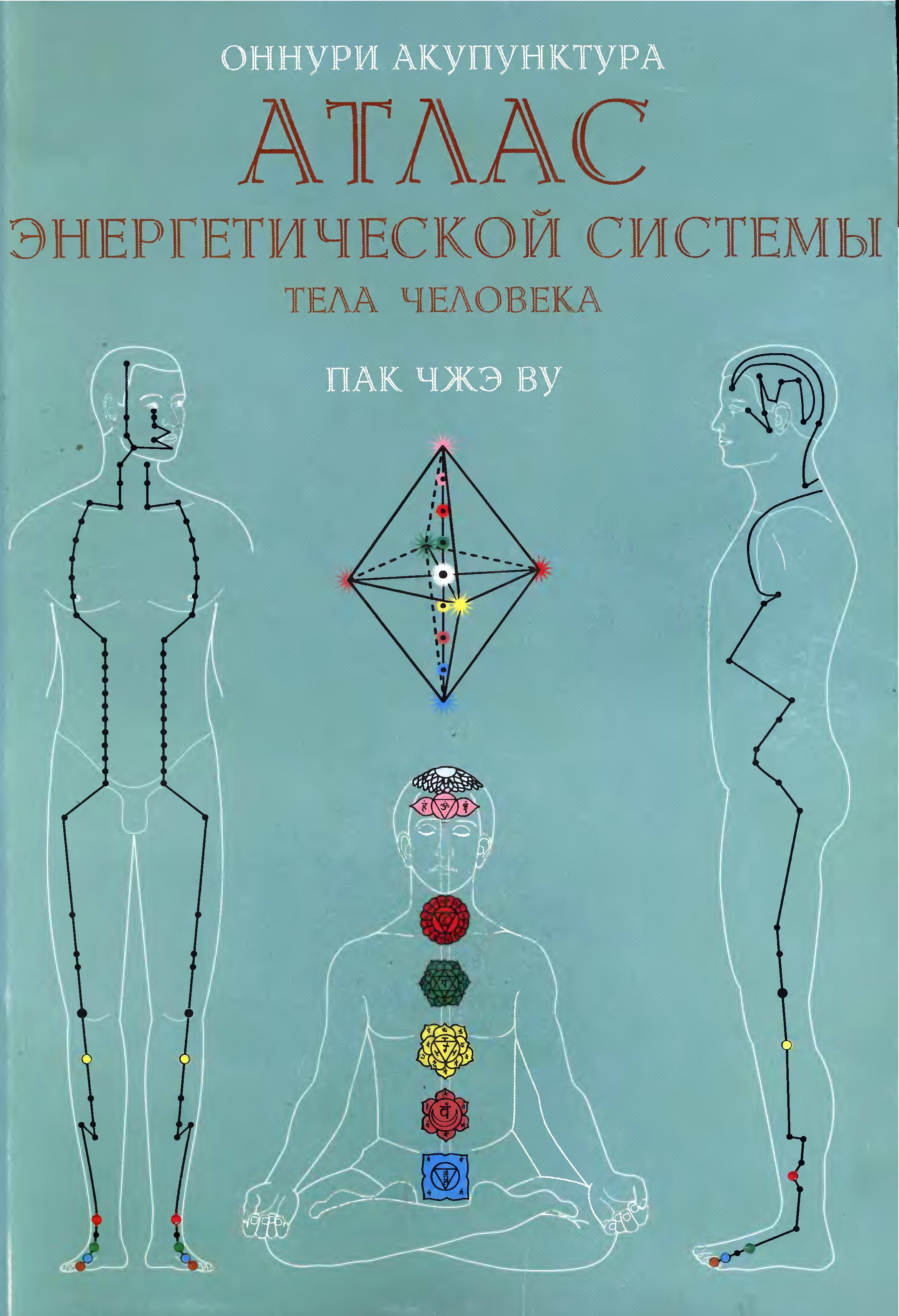 Атлас энергетической системы тела человека. Пак Чже Ву
