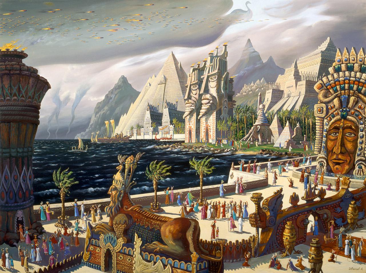 Белые фараоны - происхождение IV династии правителей Египта
