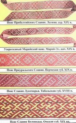 Славянские пояса