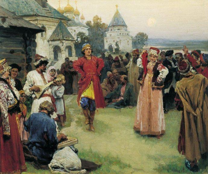 Дух Славянского танца