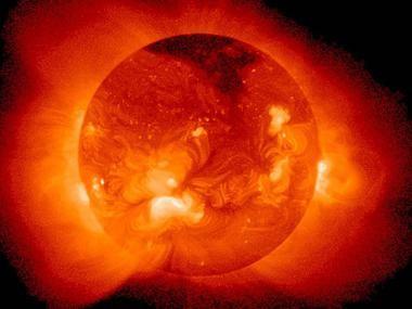 Солнечный шторм и магнитные бури в 2012-2013 годах
