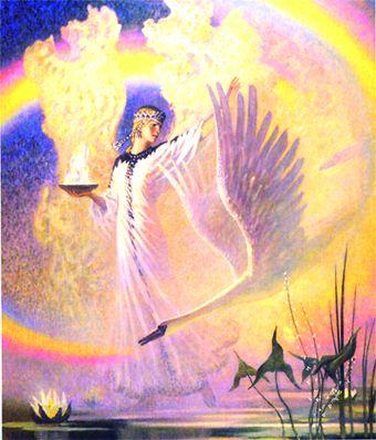 Великая любовь к своей Земле во всех радениях славян.