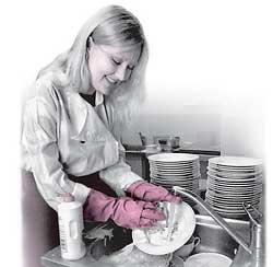 Мытье посуды химией — медленное самоубийство?