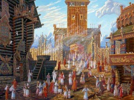 Аркона: священный город-храм