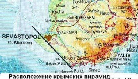 Останки Древней цивилизации в Крыму
