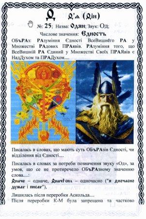 Украинская Буквица с комментариями (64 буквицы)