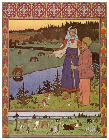 Сакральный смысл в Русских Сказках