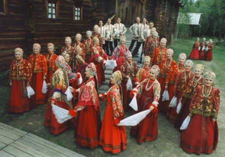 Сборник текстов  русских народных песен