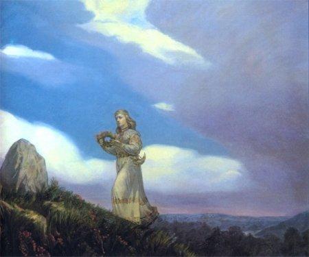 Красота славянских женщин... О ней слагали легенды