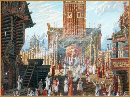 О храмах древних славян