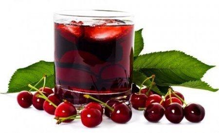Cамый полезный напиток для фитнеса обычный вишнёвый сок