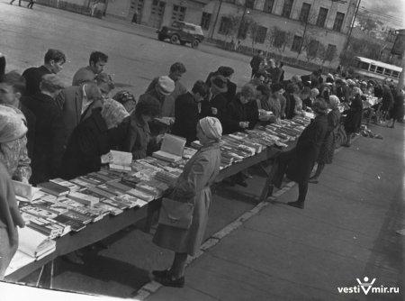 СССР - самая читающая страна мира.