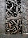 Деревянная средневековая церковь в Урнесе, Норвегия