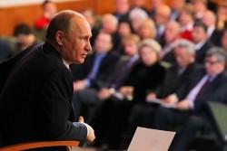» Владимир Путин: «Большинство не хочет потрясений»