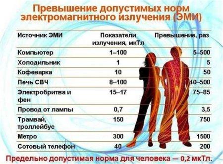 Почему в России были запрещены микроволновые печи.