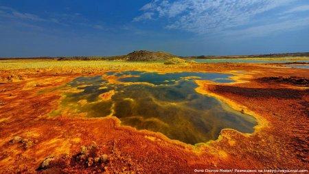 » Инопланетные пейзажи вулкана Даллол от Dionys Moser