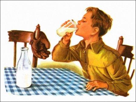 » Любовь к молоку в детстве приносит пользу в старости
