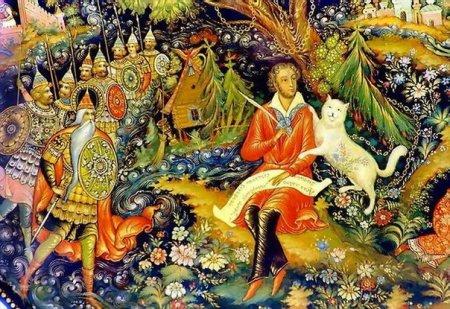 Картинки К Сказкам Пушкина