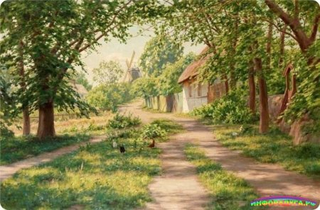 Я хочу построить дом, окружённый садом...