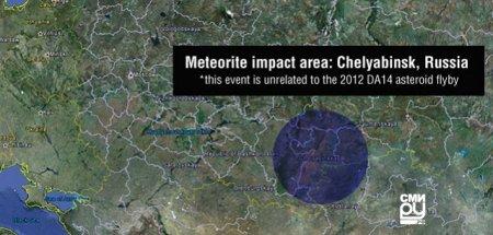 Метеорит в Челябинске.