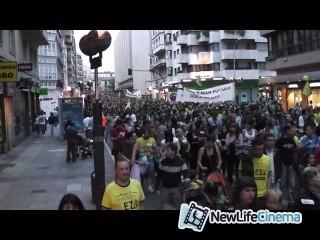 Сланцевый газ. Протесты против фрекинга.