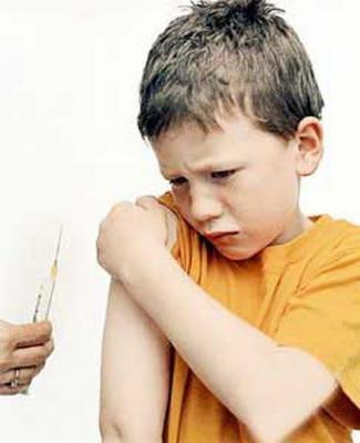 Вакцинированные дети болеют в 5 раз чаще