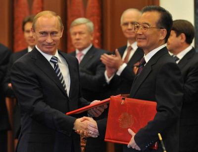» Альянс России и Китая укрепляется