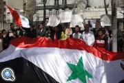 » В различных странах мира прошли митинги солидарности с Сирией