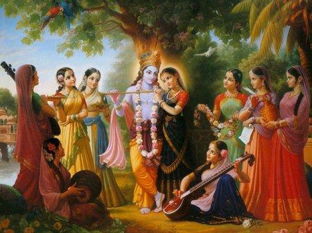 И в духовном и материальном мире любовь проявляется через 12 форм