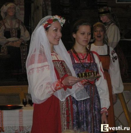 Русские свадебные обряды.