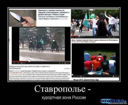 Пишем в СМИ о ситуации на Ставрополье.