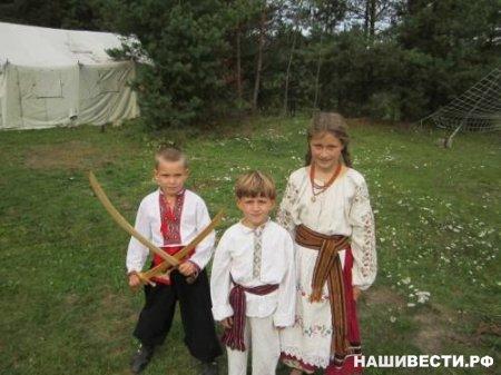 Азбука со славянскими персонажамиавтор - Марина