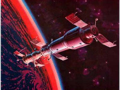 » Cоветская боевая орбитальная станция