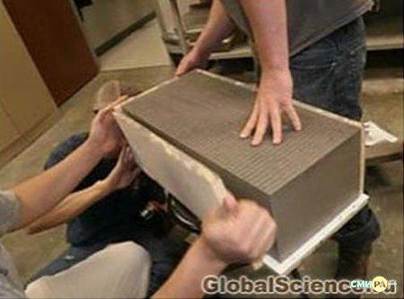 Геополимерный (или природный) бетон - это инновационный
