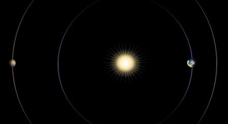 » Марс заходит за Солнце
