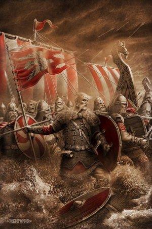 новая картина Игоря Ожиганова - Святослав!