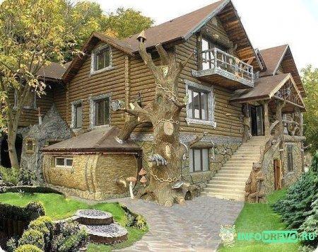 Сказочный дом.