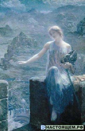 Скандинаво-германская мифология. Фрейя.
