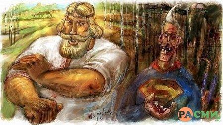 «Не засоряйте, чада молвь Родную, глаголами и наречьями