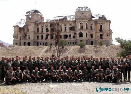 Как штурмовали дворец Амина(часть 1)