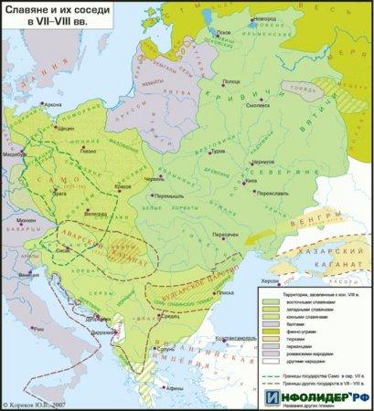 Карты Древней