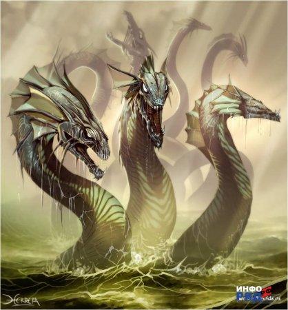 Стереотипные реакции драконьего архетипаПрадавний
