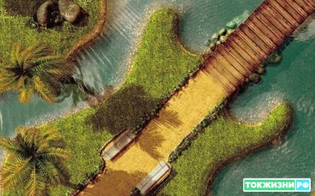 Искусственный остров.