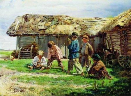 Русские народные песни для детей.