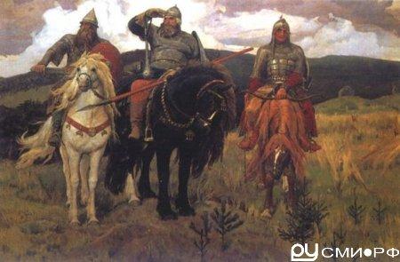 Аудиозапись: Русские богатыри (былины и сказки)
