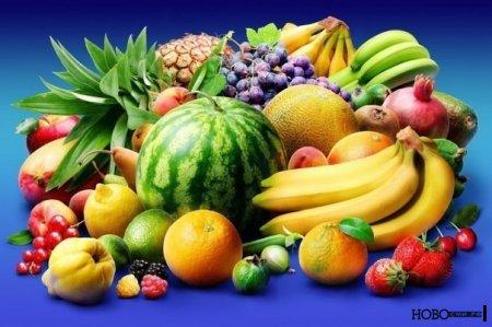 Отборные фрукты для спортсменов.