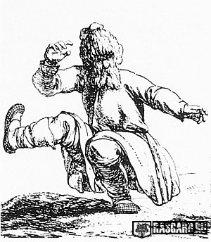 РУССКАЯ ПЛЯСКА ВПРИСЯДКУ и ПРО КОЛЕНИ (как про мужчин, так и про женщин)